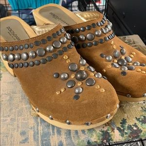Dolce & Gabba studded clogs 39.5 worn ONCE!!!!!